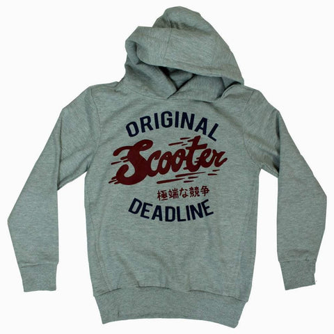 Lefties Original Scooter Heather Grey Hoodie