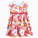 Carters red and orange flowers Dress