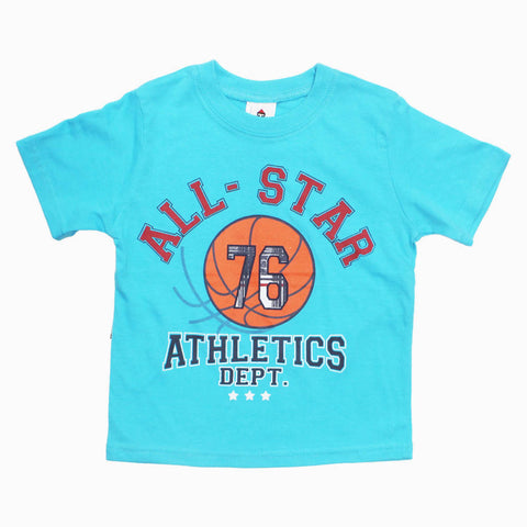 All Star Athletics Light Blue Tshirt
