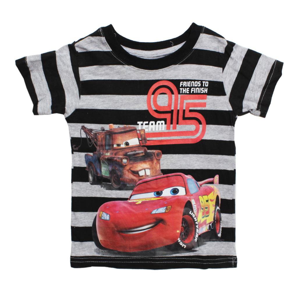 Disney Team 95 Cars Boys 3 Piece Cotton Set