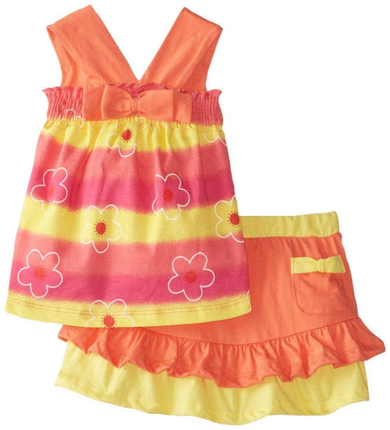 Young heart Multi color flower frock