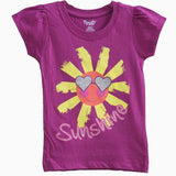 Nannette Purple Sunshine girls T-shirt