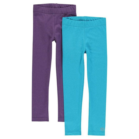 Orchestra turquoise and purple leggings set