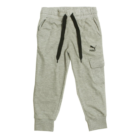 PUMA Heather Grey Side Pocket Basic Cotton mix  Trouser