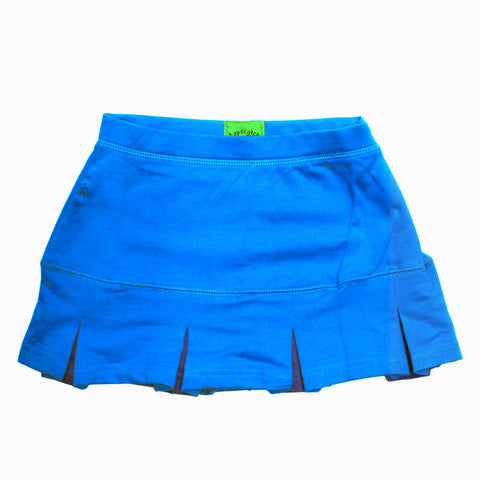HOPSCOTCH Turquoise Blue Cotton Frill Skirt