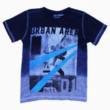 Urban Area Special Treated Pure Cotton Boys Two Tone Tshirt