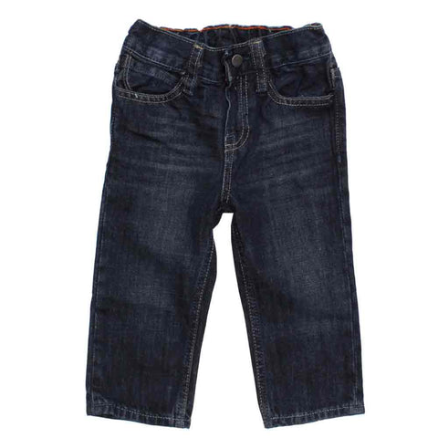 BABY GAP Blue Boys Inner Fleece Warm Denim Jeans