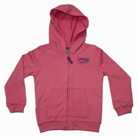 URB Summer Girl Pink French Terry Hoodie