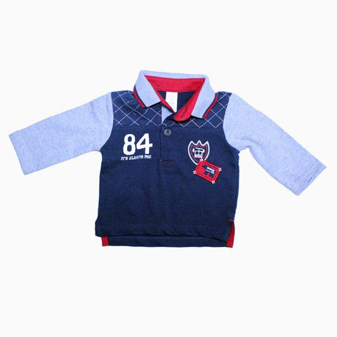 Baby club polo full sleeves