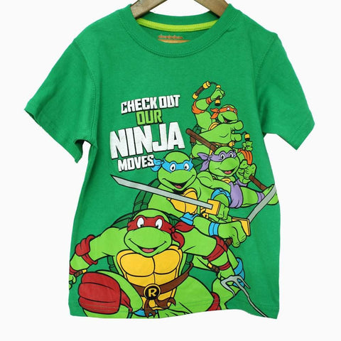 Check out Ninja Moves Green Boys Tshirt