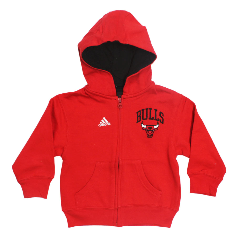 ADIDAS Red Bulls Red Boys Cotton Hoodies