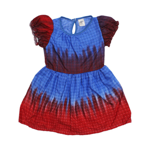 Carters Red and Blue frock