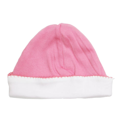 BABY Bottom Lace Pink And White Cap