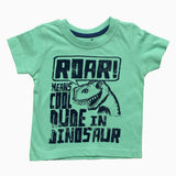 Cool Dude Dinosaur Green Boys Tshirt