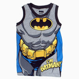 BatMan Caped Crusader Blue boys 3 Piece Set