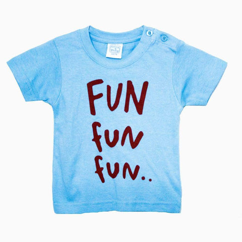Anna Philip Fun light blue unisex tshirt