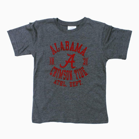 Alabama Tide Boys Grey Tshirt