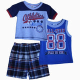 Peanut Buttons Athletics all start Boys 3 piece suite