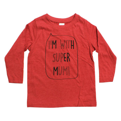 HnT Super Mom Premium Cotton Tshirt