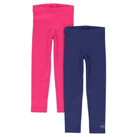 Orchestra blue and pink leggings set