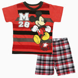 Mickey Mouse M28 Red boys 2 piece Set