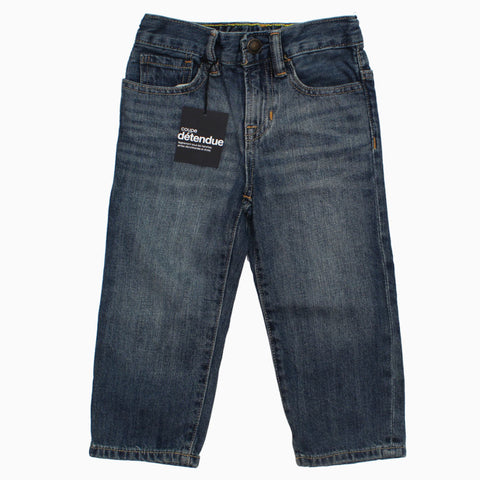 BABY GAP Blue Sand Washed Denim Jeans
