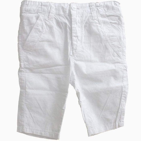 Zara White Children Shorts