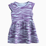 HNM purple layer grey Dress
