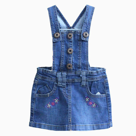 Splash small embroidery Romper