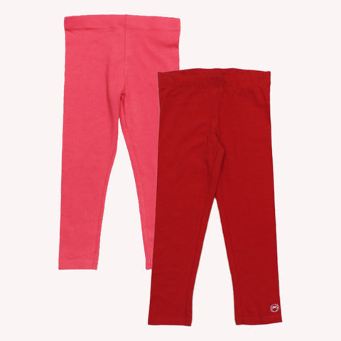 ORCHESTRA Red And Coral Legging Set