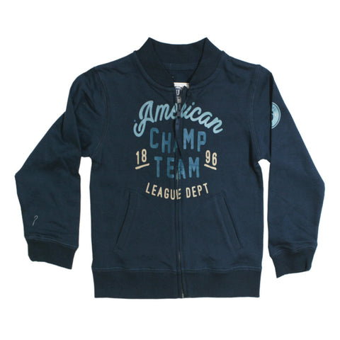 UNIT Boys American Champ Team  Blue Bomber Jacket
