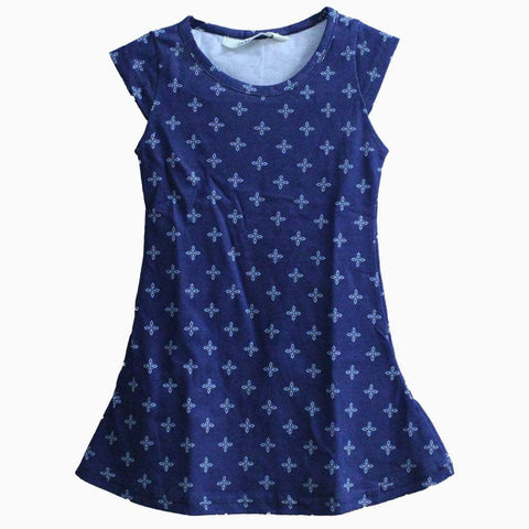 HNM Blue pattern Dress