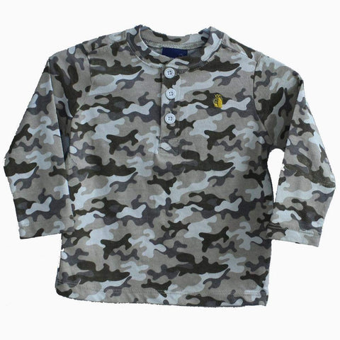 Camouflage full sleeves T-Shirt