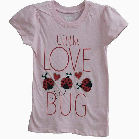 Lady Bug Light Pink T-shirt