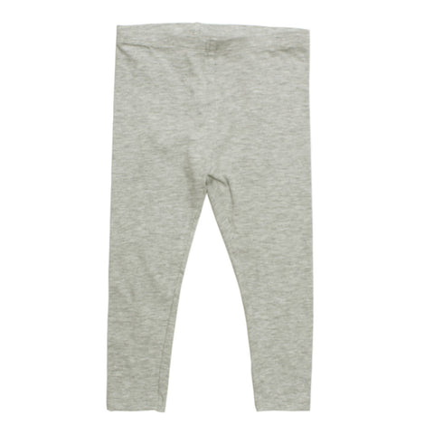 BABY CLUB Heather Grey Premium Cotton Legging