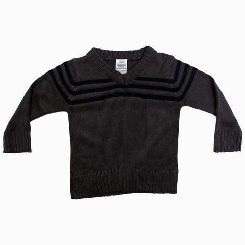 Grey Boys Acrylic Wool Stylish Sweater