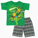 Check Out Ninja Moves Green Boys 2 piece Set