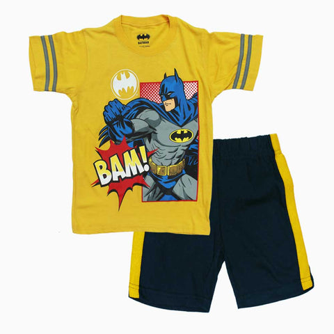 BatMan BAM Yellow Boys 2 Piece Set