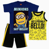 Minions Bello 3piece Boys Set