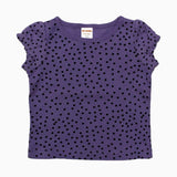 Gymboree Polkadot Purple Girls Tshirt