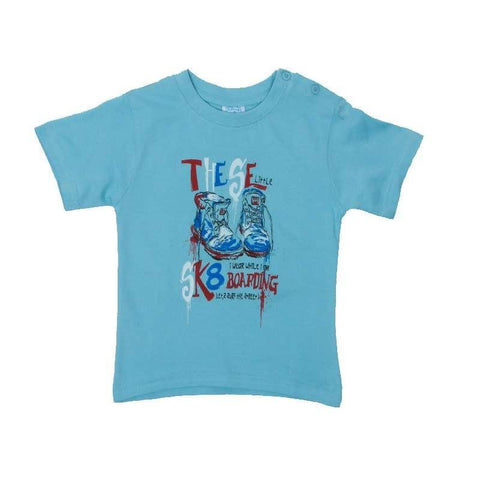 Anna philip little sk8 lite-blue t-shirt