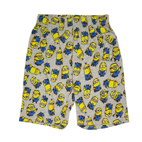 MINIONS All over Print Cotton Shorts