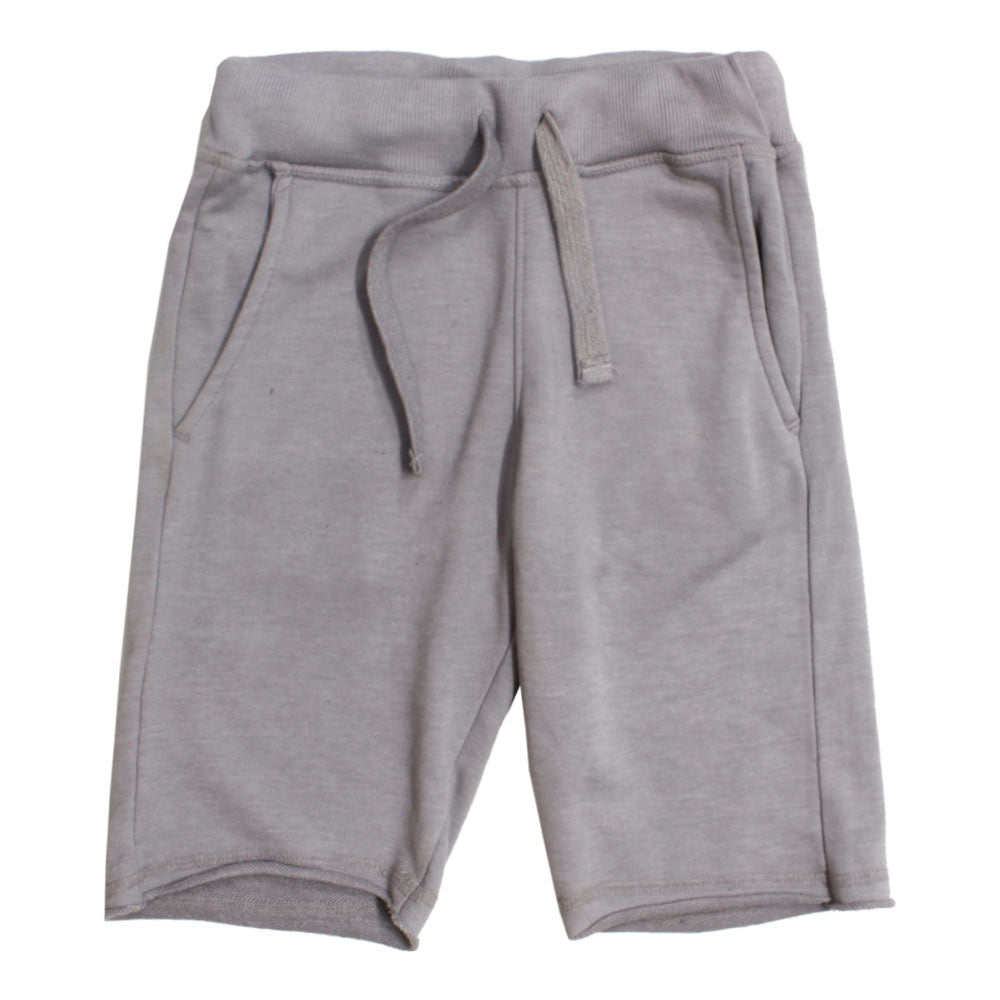 BLUE SEVEN Grey Boys Cotton Short