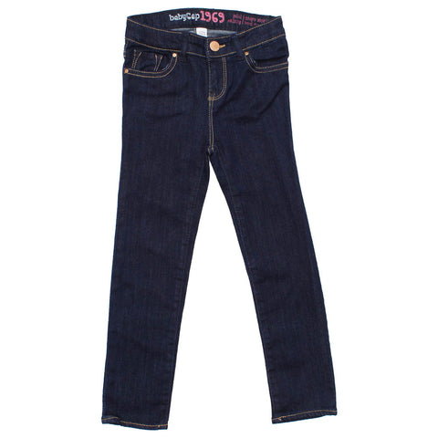 BABY GAP Skinny Girls Dark Blue Jegging
