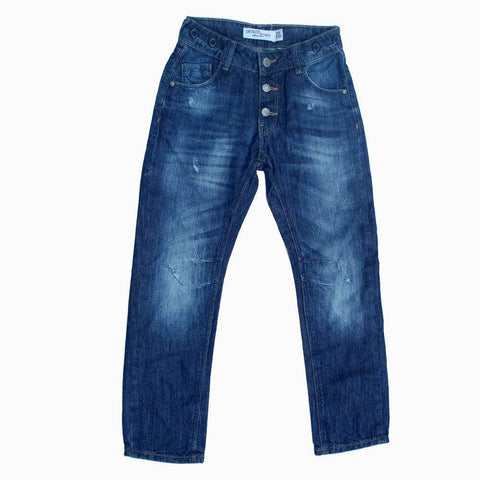 Lindex Blue boys distorted jeans