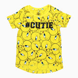 Tweety Cutie Girls Premium Cotton Tshirt
