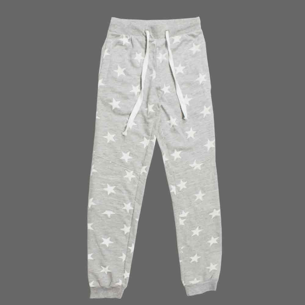 All Over Stars Cotton French Terry Unisex Trouser