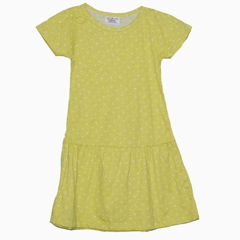 H&M Polka Dot Yellow Dress