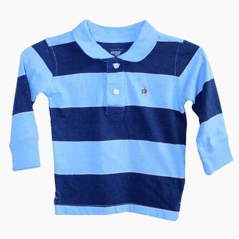 Teddy Bear lite Blue polo t-shirt boys