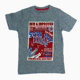 Soda Pop Boys heather grey Tshirt